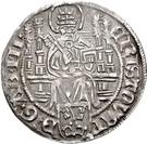 4 Grote - Christoph von Braunschweig – avers