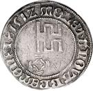 4 Grote - Christoph von Braunschweig – revers