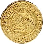1 Goldgulden - Heinrich II. von Schwarzburg – avers