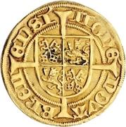 1 Goldgulden - Heinrich II. von Schwarzburg – revers