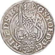 1 Groten - Christoph von Braunschweig – avers