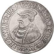 1 Thaler - Georg von Braunschweig – avers