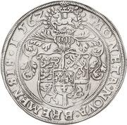 1 Thaler - Georg von Braunschweig – revers