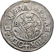 ¼ Thaler - Heinrich III. von Sachsen-Lauenburg – avers