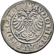 ¼ Thaler - Heinrich III. von Sachsen-Lauenburg – revers