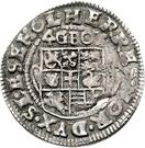 4 Groschen - Johann Friedrich von Holstein-Gottorp – revers