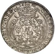 1 Thaler - Friedrich von Dänemark – revers