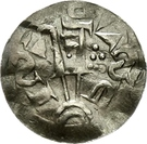1 Pfennig - Adalbert – revers