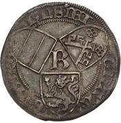 1 Doppelgroten - Heinrich II. von Schwarzburg – avers