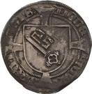 1 Doppelgroten - Heinrich II. von Schwarzburg – revers
