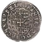 1 Doppelschilling - Johann Friedrich von Holstein-Gottorp – avers