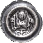 1 Brakteat - Gerhard II. von der Lippe – avers
