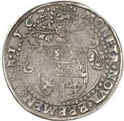1 thaler Georg von Braunschweig – revers