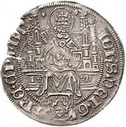 4 grote Johann III de Rode – avers
