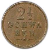 2½ schwaren – revers