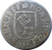 1 groten - Franz I – avers