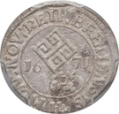1/36 thaler - Leopold I – avers