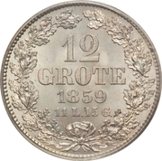 12 grote – revers