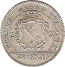 24 grote - Franz I – avers