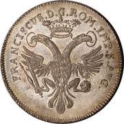 ½ thaler - Franz I (Opérations de change) – revers