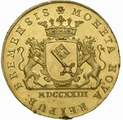 10 ducats – avers