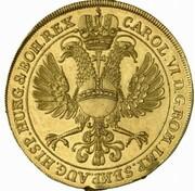 10 ducats – revers