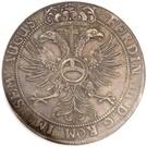 1 thaler - Ferdinand III – revers