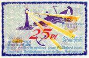 25 Pfennig (Bremerhaven) – avers