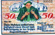 50 Pfennig (Bremerhaven) – avers