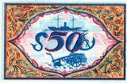 50 Pfennig (Bremerhaven) – revers