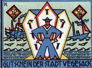 50 Pfennig (Vegesack) – revers