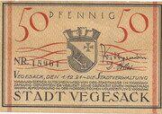 50 Pfennig (Vegesack) – avers
