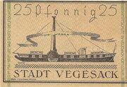 25 Pfennig (Vegesack) – revers