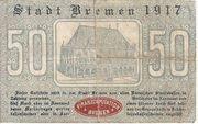 50 Pfennig (Bremen) – revers