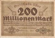 200,000,000 Mark – avers