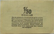 8.4 Goldpfennig - 2 US-Cents (Bremen) – revers