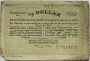 0.84 Mark Gold - 1/5 US-Dollar (Bremen) – avers