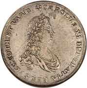 1 Thaler - Charles XI – avers