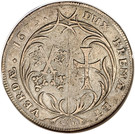 1 Thaler - Charles XI – revers