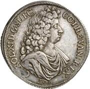 1 thaler Karl XI – avers