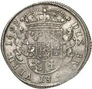 1 thaler Karl XI – revers