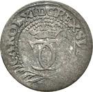 1/24 thaler Karl XI. – avers
