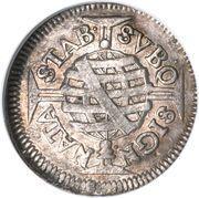 80 réis - Pedro II (petite couronne) – revers
