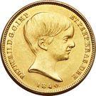 10000 réis - Pedro II – avers