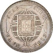 640 réis - João VI -  avers