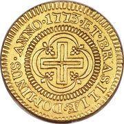 2000 réis - José I – revers