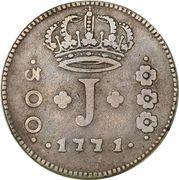 300 réis - José I -  avers