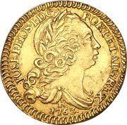 1600 réis - José I – avers