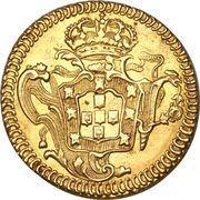 1600 réis - José I – revers