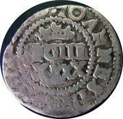 50 réis Afonso VI (contremarquée sur 2 vinténs João IV) – avers
